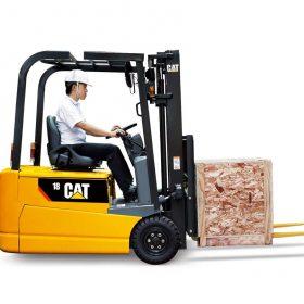 Xe nâng hàng động cơ điện chính hãng CATERPILLAR