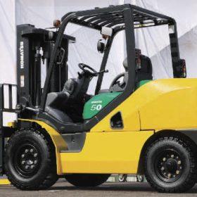 Học cách chọn xe nâng hàng komatsu theo nhu cầu sử dụng