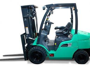 cho thue xe nang Xe nâng dầu Mitsubishi FD30N3 - 3 tấn