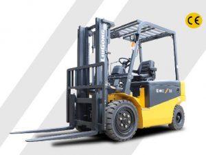 cho thuê xe nâng điện liugong CLG2030A-S chinh hang